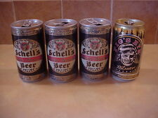 Vintage Beer Cans, Lot of 4