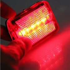 New Flash Light Safety Warning Rear Tail Cycling 5 LED Bicycle Beam Bike GOCA