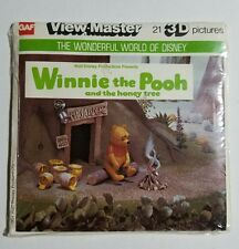 View-Master B362, Winnie the Pooh and the Honey Tree - 3 Reel Set + Booklet
