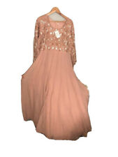 Dusty Pink Bridesmaid Long Maxi Dress Size Large