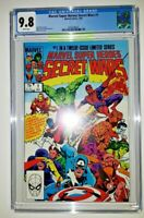 Marvel Super Heroes Secret Wars #1 (1984) CGC 9.8 NM/MT White Pages. Clean Case.