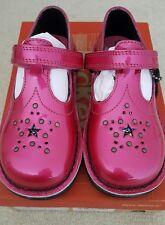 Kickers Niñas Zapatos 10 Reino Unido 28 UE Kick T Star 2 Rosa Oscuro