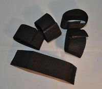 "Rope Keeper - 1 1/2"" Black Webbing - Pack of 6 (F108)"