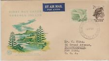 Norfolk Island Birds Definitives First Day Cover 1961