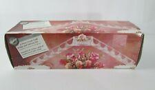 Vtg Wilton Wedding Cake 3 Piece Bridge and Stairway Set Clear Crystal Look New
