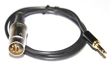 Bang Olufsen type 5 Pin DIN to 3.5mm Slim Plug for iPhone Smartphone MP3 New