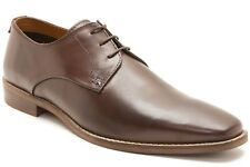 Mens Red Tape Hopton Brown Real Leather Lace up Wedding Smart Formal Shoes Size UK 9