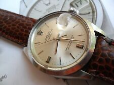 Vintage 1969 S/S Men's Rolex 1500 Oyster Perpetual Date 26J Automatic Watch