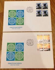 Norway Post FDC 1991.06.07. Norden IX - Tourism - Block of Four