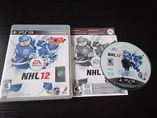 Sony Playstation PS 3 PS3 NHL 12 complete & tested