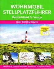 Wohnmobil Stellplatzführer 2019/20 Deutschland und Europa,