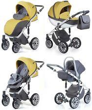 New 2017 Anex Sport Stroller basinet, Car Seat Luxury Baby Travel 3in1 baby pram