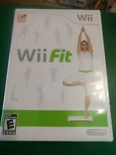 Nintendo Wii Fit Exercise Video Game Complete With Manual Tested & Works