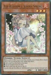 Ash Blossom & Joyous Spring - DUDE-EN003 - Ultra Rare - 1st Edition - Yugioh