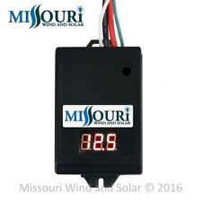 12 Volt 30 Amp Digital Programmable Charge Controller & Relay Driver Module