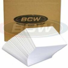 10 BCW Magazine Boards Only Sleeve Backer Acid Free Archive Protect 8 1/2 x 11