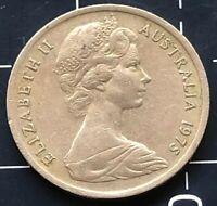 1975 AUSTRALIAN 5 CENT COIN