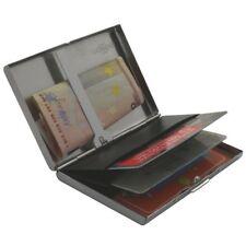 RFID Kreditkartenetui Blocker Schutz aus Alu für 3-5 Kreditkarten + Geldklammer