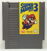 Nintendo NES Super Mario Bros. 3 Video Game Cartridge *Authentic/Cleaned/Tested*