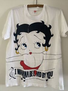 VINTAGE BETTY BOOP T-SHIRT MADE IN USA SIZE L