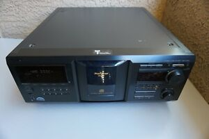 Sony CDP-CX400 CD Changer Tested Works No Remote