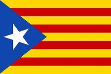 CATALAN INDEPENDENCE ESTELADA BLAVA 5x3 feet FLAG 150cm x 90cm flags Catalonia