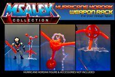 Hurricane Hordak - Weapon Rack (Acrylic) - Acrylic Stand - MOTU by MSALEK