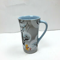Disney Store Tall Mug Cup Winnie The Pooh With Piglet Winter Snow