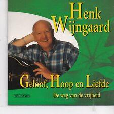 Henk Wijngaard-Geloof Hoop en Liefde cd single