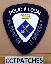 EL PRAT DE LLOBREGAT, SPAIN POLICIA LOCAL POLICE SHOULDER PATCH
