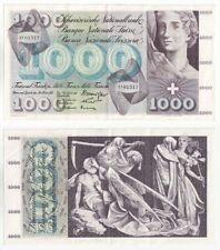 More details for switzerland 1000 franken banknote (1963) p.52f - ef.