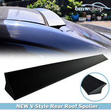 Unpainted Rear New V-Style Roof Lip Spoiler Fit For Cadillac CTS Sedan 2013 PUF