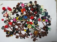 Lego Job Lot Over  100 Minifigure  Accessory Parts Body Head Hair & More Set 34