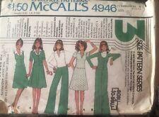 McCalls Carefree pattern 4946 Misses' Jacket or Vest, Top, Skirt & Pants sz 8,10