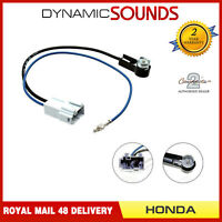 CT27AA73 CD RADIO DIN ANTENNA AERIAL ADAPTER LEAD FITS HONDA INSIGHT ODYSSEY