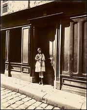 Masters of Photography: Eugene Atget: Paris Streetwalker #2: Digital Photograph
