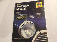 MINI HAYNES RESTORATION MANUAL buy restore repair BMC COOPER S 850 ++ 1959-2000