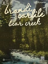Brandi Carlile Bear Creek Sheet Music Guitar Tablature Book NEW 000322471