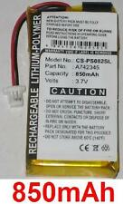 Batterie 850mAh type 742345 A742345 Pour Philips GoGear HDD082/17 (2GB)