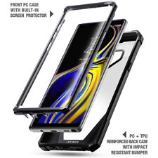 Shockproof Hybrid TPU Clear Back Hard Case Cover Case For Galaxy Note 9 Black