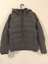 Hollister Mens Jacket Gray L $160 NWT