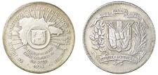 Dominican Republic 1 Peso, 26.7g Silver Coin, 1974, KM#35, Mint, 12th Games
