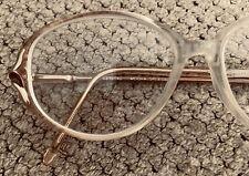 Mocha Brand Eyeglass Frames Showoff Flex Made in France Stylish Metal Plastic