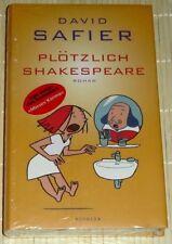 NEU, OVP - David Safier - PLÖTZLICH SHAKESPEARE - gebunden ISBN: 3463405539