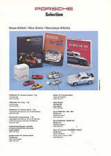 Porsche Selection Merchandise Prospekt 1994 WWM 291 313 brochure (D, GB, F)