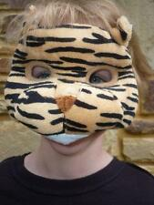 *NEW* Plush Soft 3D TIGER MASK WITH EARS Dress ups Costume Halloween Book Week