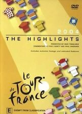 - Le Tour De France - 2004 Highlights (2 DVD SET) Brand New (Region 4) $29.95
