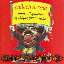 Collective Soul Guitar Tab HINTS ALLEGATIONS AND THINGS LEFT PDF Lessons on Disc