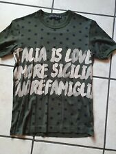 dolce e gabbana t-shirt uomo Tg. 44