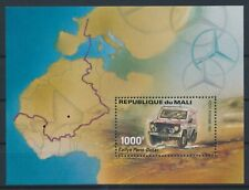 LN69777 Mali Paris-Dakar rally cars good sheet MNH